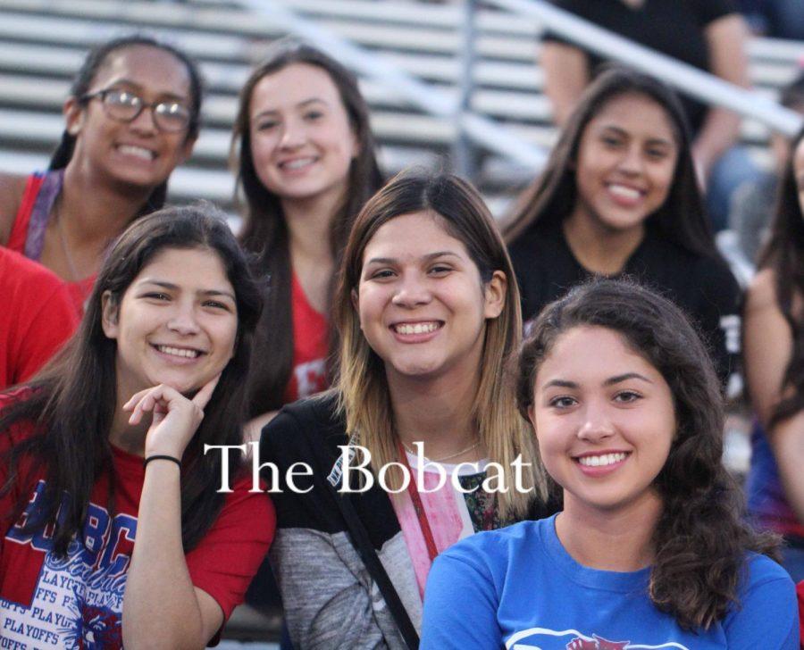 Bobcats attend Fields of Faith.