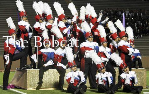 Band Receives Division 1 at Pigskin