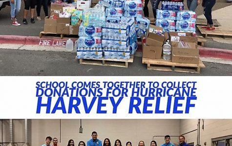 School Organizations Donate to Hurricane Victims