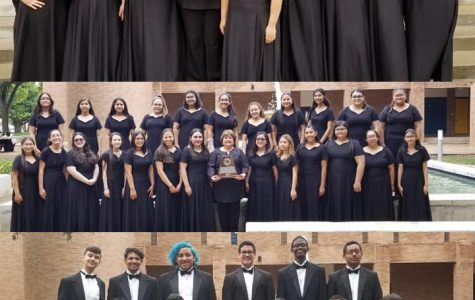 Choirs earn sweepstakes award at UIL competition.
