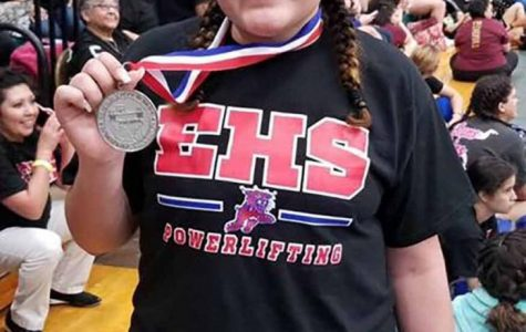 Aysha Lopez advances to the next level in Powerlifting competition.