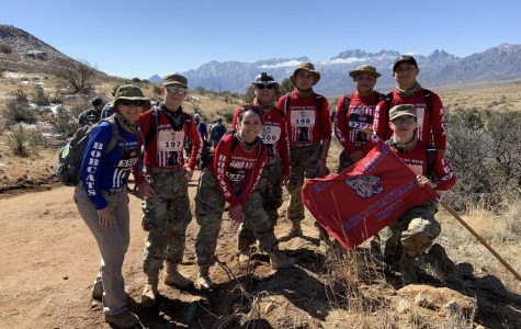 JROTC members complete Death March.