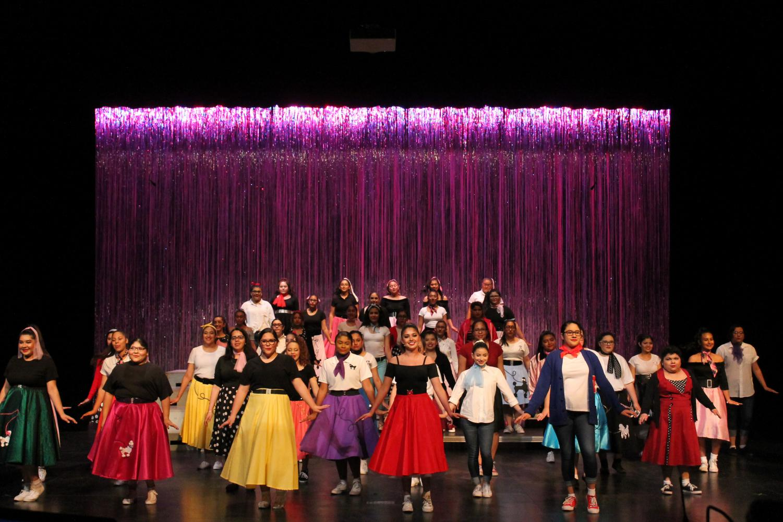 Choir holds last Spring Show.