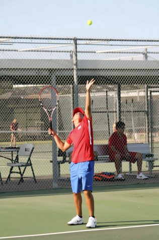 Varsity Tennis beats Donna North