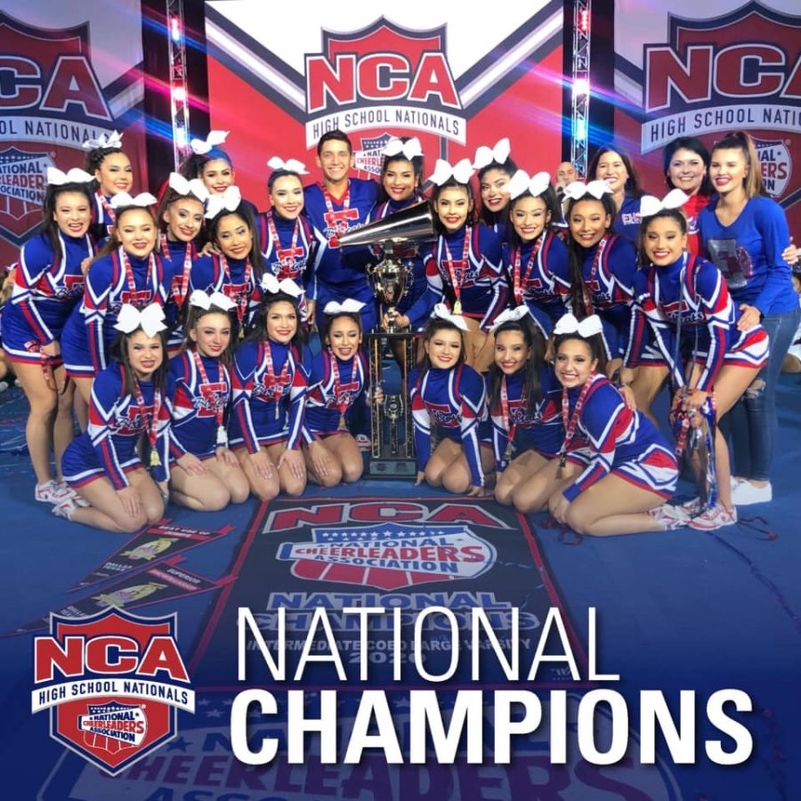 National Champion cheer team
