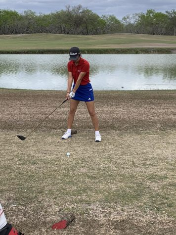 Madison Ozuna plays in Golf tournament in San Antonio.