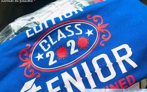 Seniors receive curbside service for Cap & Gowns