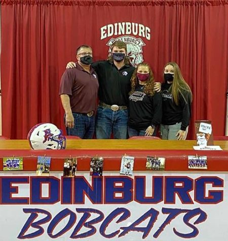 Senior, Francisco Coronado signs letter of intent to play football at the next level.
